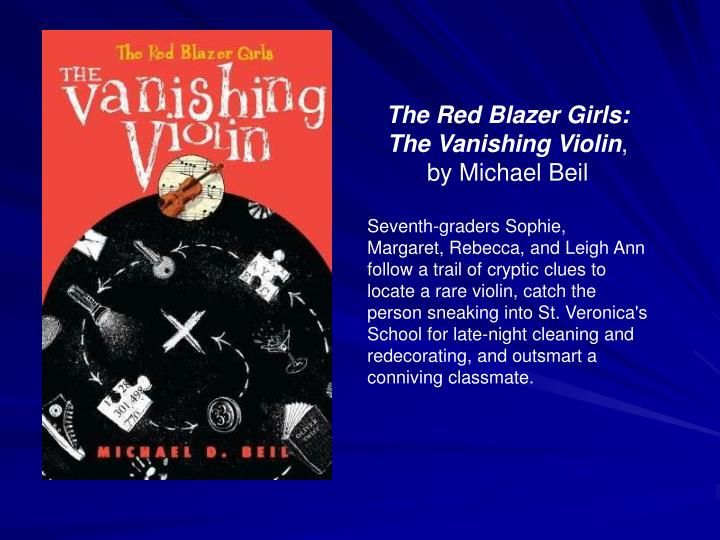 The Red Blazer Girls: The Vanishing Violin