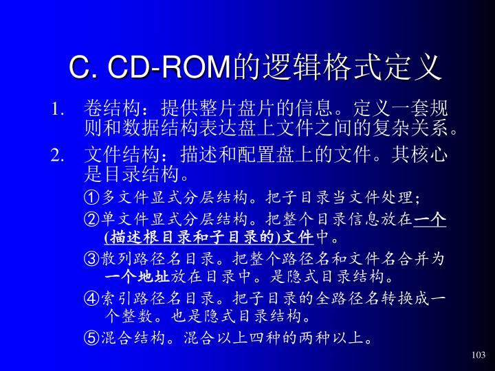C. CD-ROM