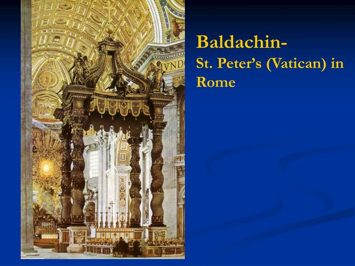Baldachin-