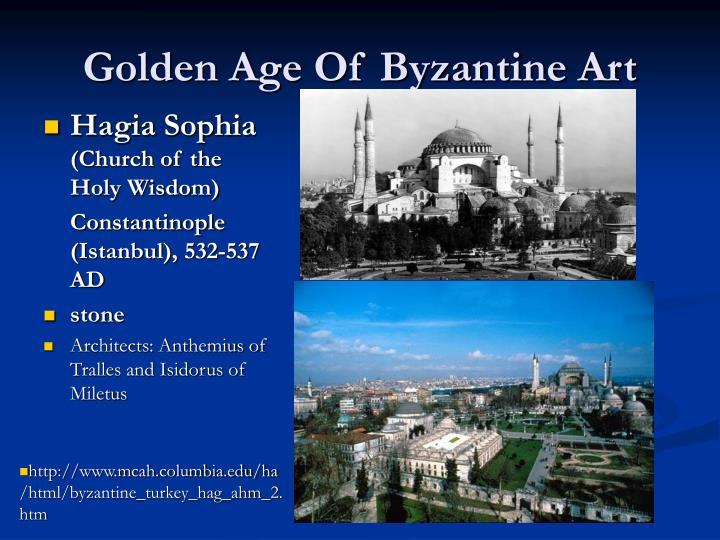 Golden Age Of Byzantine Art