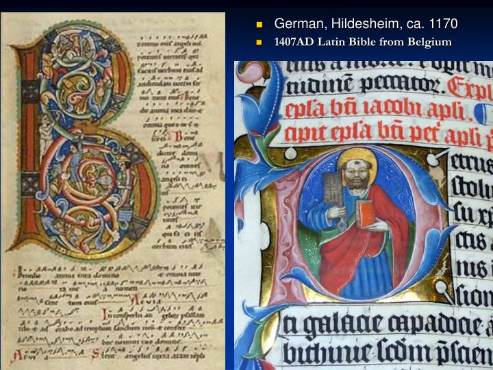 German, Hildesheim, ca. 1170
