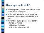 historique de la zl a1