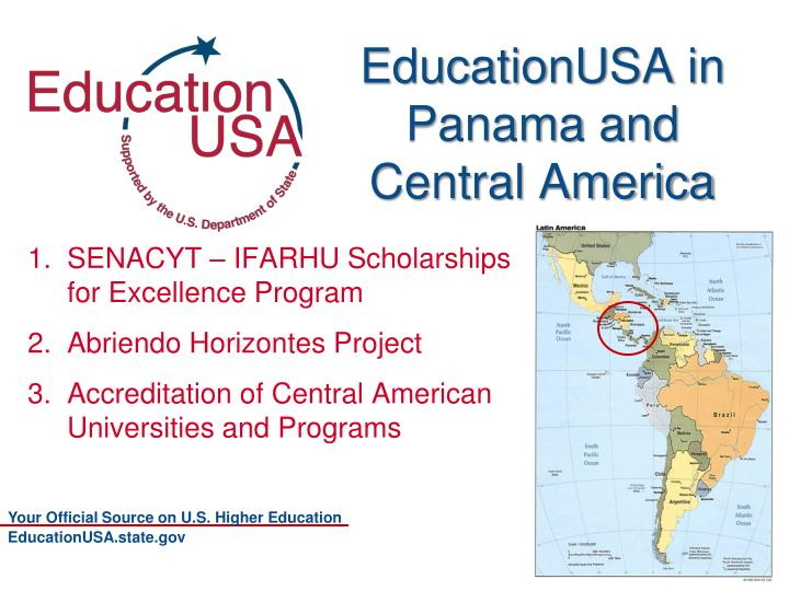 EducationUSA in Panama and Central America