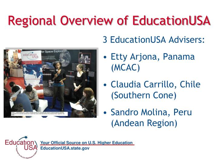 Regional overview of educationusa1