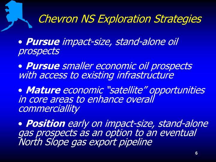 Chevron NS Exploration Strategies