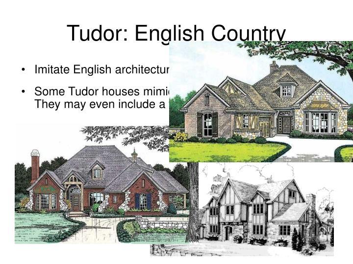Tudor: English Country