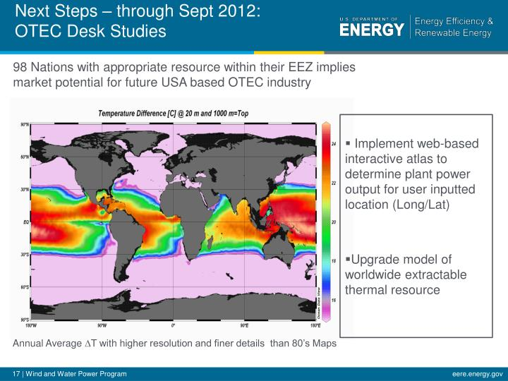 Next Steps – through Sept 2012: