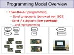 programming model overview11