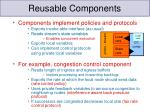 reusable components