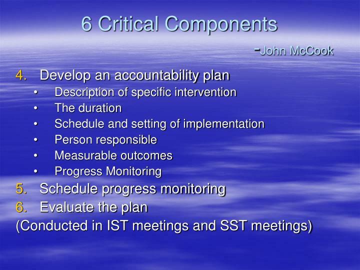 6 Critical Components