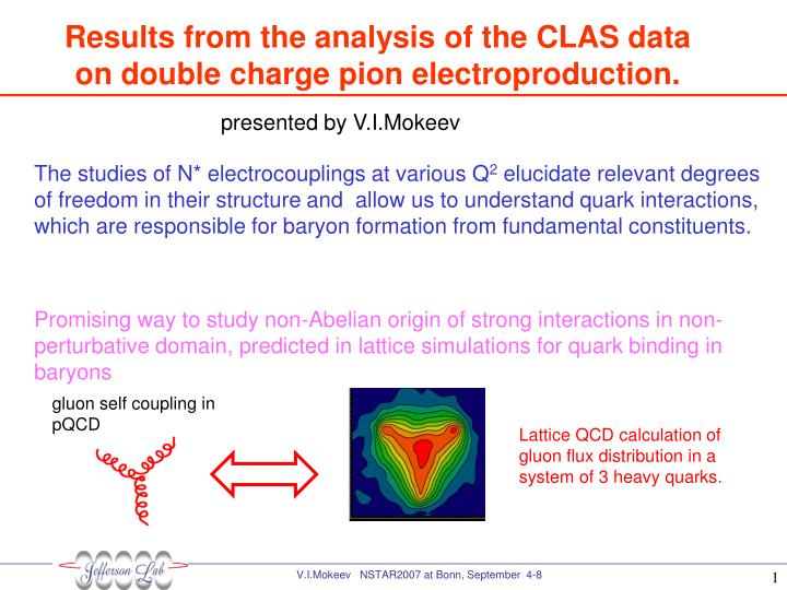 Results from the analysis of the CLAS data on double charge pion electroproduction.