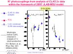 n photocouplings from analysis of clas 2 p data within the framework of 2005 jlab msu model