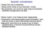 quantile normalisation2