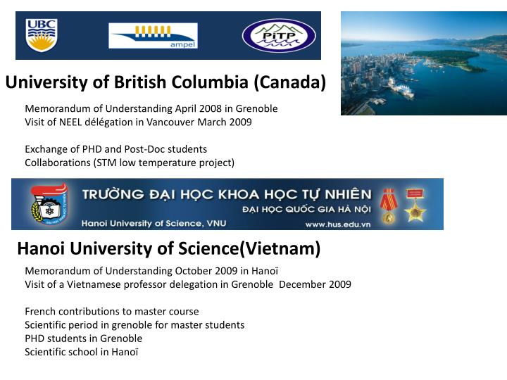 University of British Columbia (Canada)