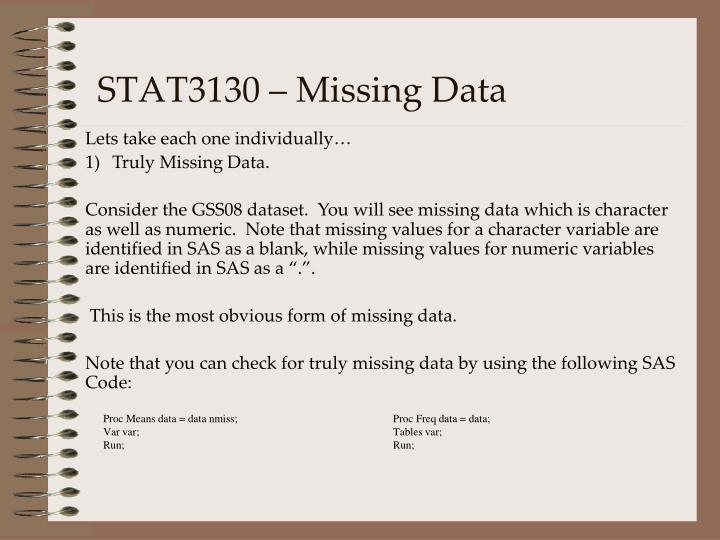 Stat3130 missing data1