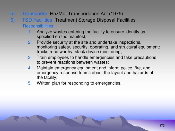 Transporter: