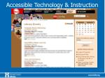 accessible technology instruction