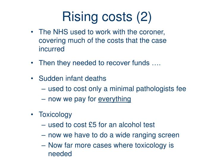 Rising costs (2)