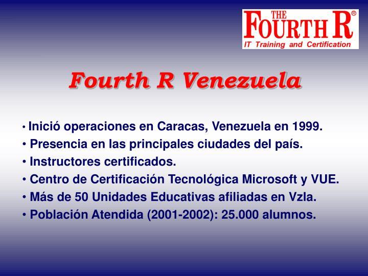 Fourth R Venezuela