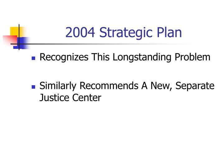 2004 Strategic Plan