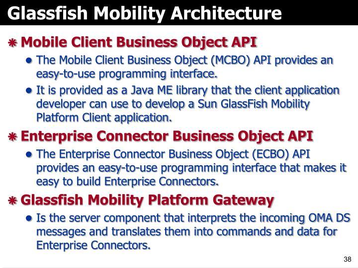 Glassfish Mobility Architecture