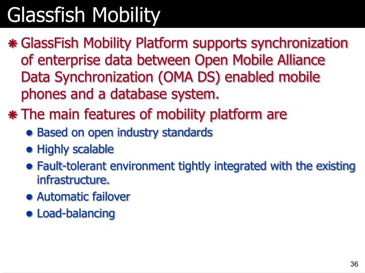 Glassfish Mobility