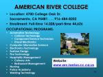 american river college