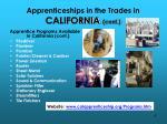 apprenticeships in the trades in california cont2