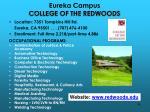 eureka campus college of the redwoods
