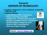 general institute of technology