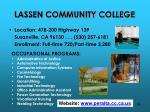 lassen community college