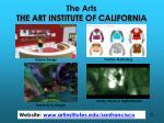 the arts the art institute of california