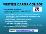 western career college