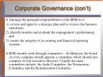 corporate governance con t2