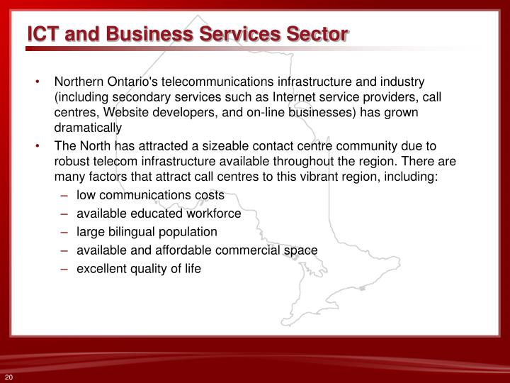 ICT and Business Services Sector