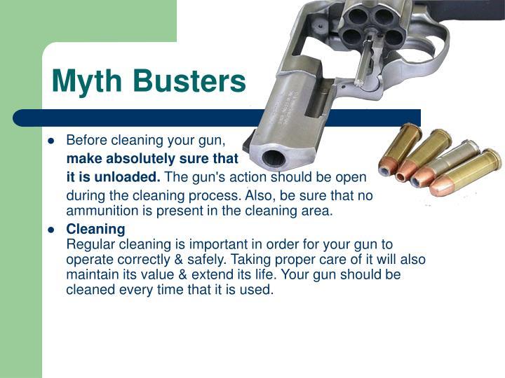 Myth Busters