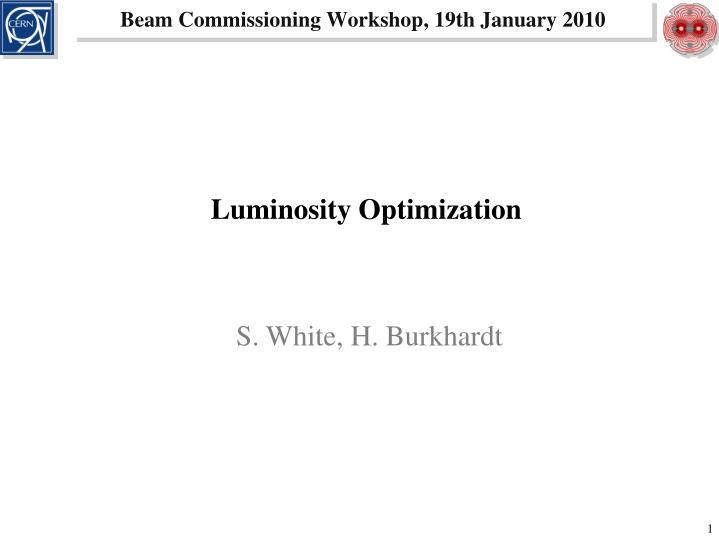 Beam Commissioning Workshop
