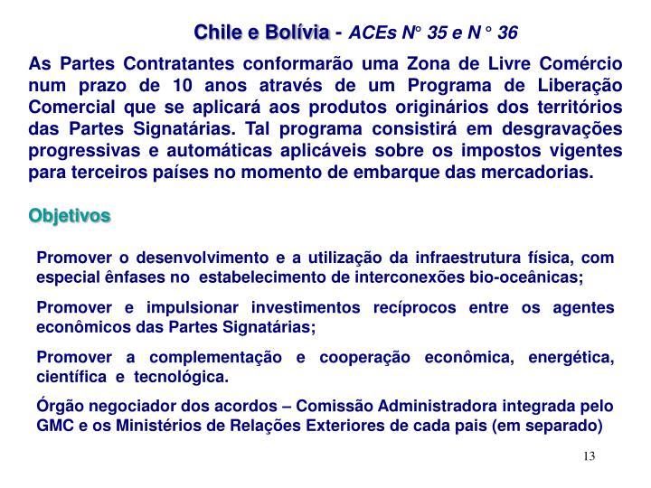Chile e Bolívia