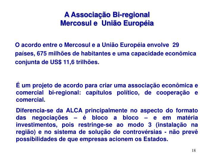 A Associação Bi-regional