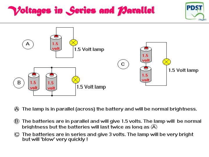 Voltages in Series and Parallel