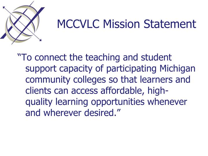 MCCVLC Mission Statement