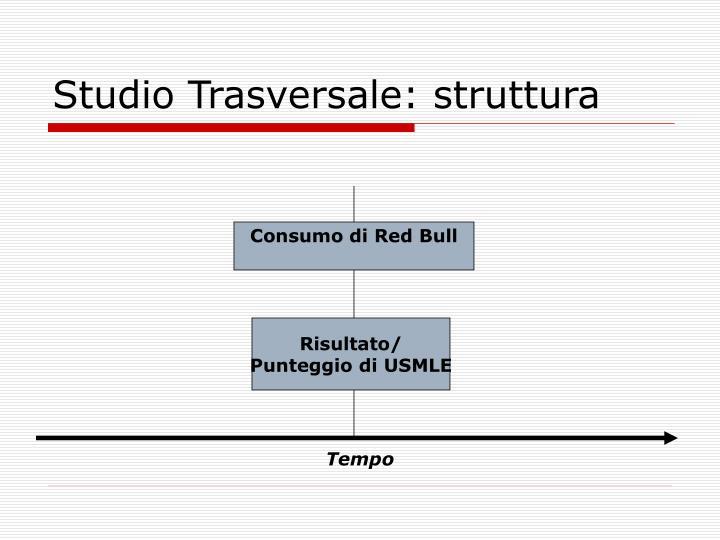 Studio Trasversale: struttura