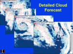 detailed cloud forecast
