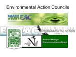 environmental action councils