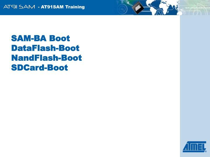 SAM-BA Boot