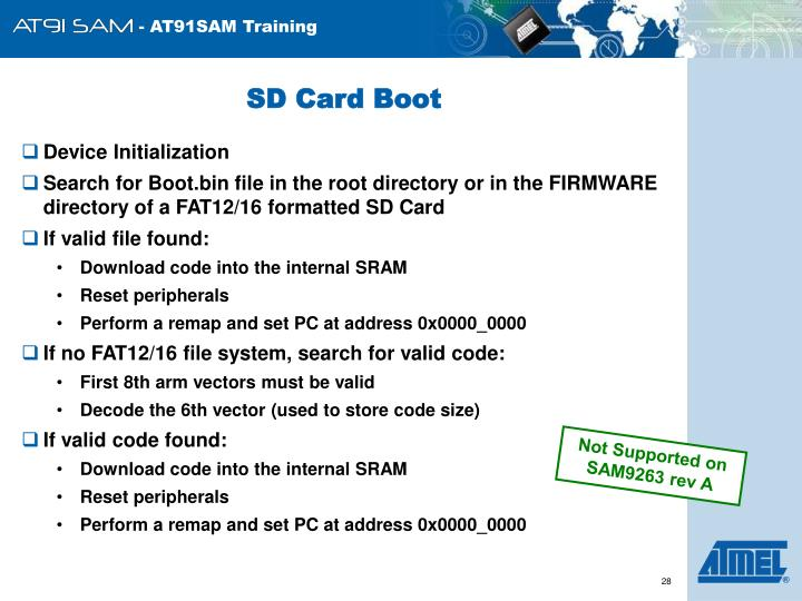 SD Card Boot