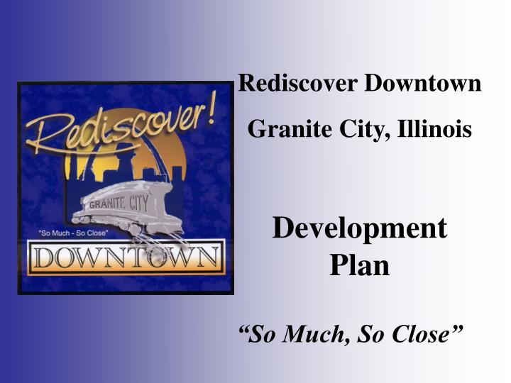Rediscover Downtown
