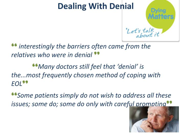 Dealing With Denial