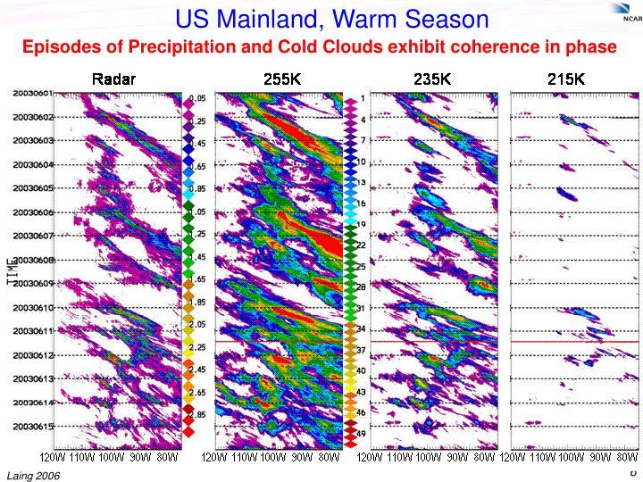 US Mainland, Warm Season
