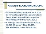 an lisis economico social